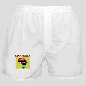 Kinara with lit candles Boxer Shorts