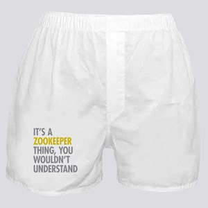 Its A Zookeeper Thing Boxer Shorts