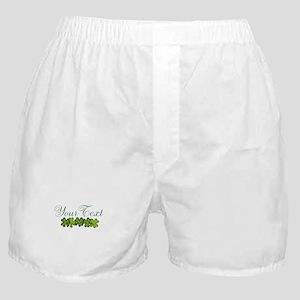 Personalizable Shamrocks Boxer Shorts