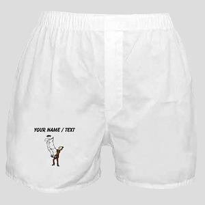Custom Paper Work Boxer Shorts