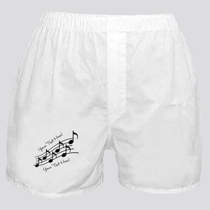 Music Notes PERSONALIZED Boxer Shorts