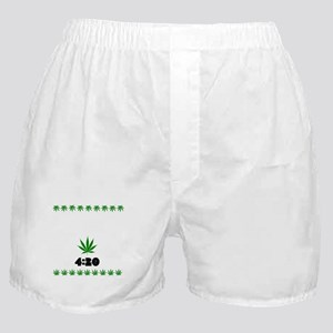 4:20 Weed Leaf shirt Boxer Shorts