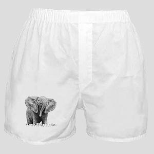 Love Elephants! Boxer Shorts