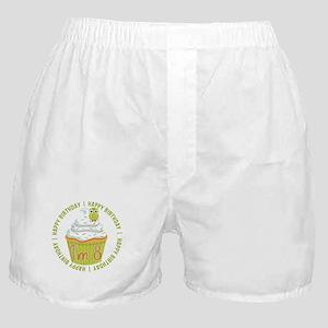 8th Birthday Cupcake Boxer Shorts