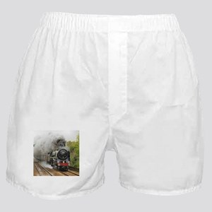 locomotive train engine 2 Boxer Shorts