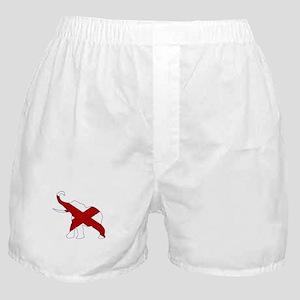 Alabama Republican Elephant Flag Boxer Shorts
