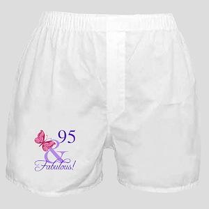 Fabulous 95th Birthday Boxer Shorts