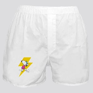Peanuts Snoopy Dance Lightning Boxer Shorts