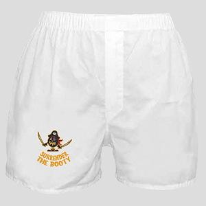 Pirate Halloween Boxer Shorts