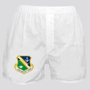 143rd Airlift Wing Boxer Shorts
