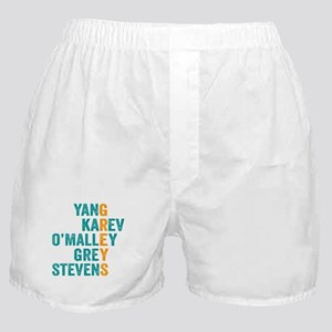 Grey's Anatomy Vertical. Boxer Shorts