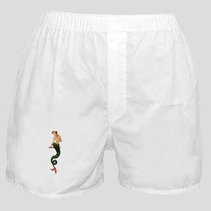 Vintage Pin Up Mermaid ~ Summer Boxer Shorts