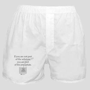 Solution Precipitate (beaker) - Boxer Shorts