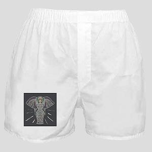 Indian Elephant Boxer Shorts
