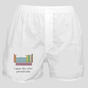 I Wear This Shirt Periodically Boxer Shorts