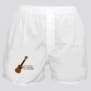 Ukulele Design Boxer Shorts