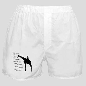 Giraffenapping Boxer Shorts