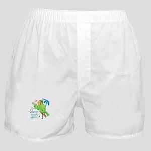 WASTIN AWAY AGAIN Boxer Shorts
