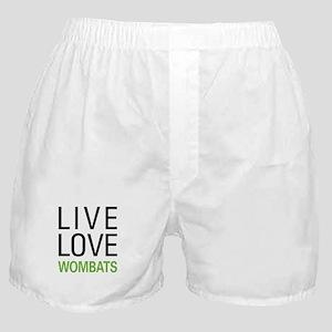 Live Love Wombats Boxer Shorts