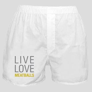 Live Love Meatballs Boxer Shorts