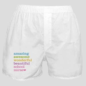 Amazing School Nurse Boxer Shorts
