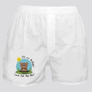 Allison birthday (groundhog) Boxer Shorts