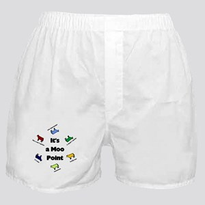 It's a Moo Point Boxer Shorts