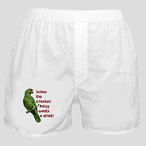 Smart Parrot Boxer Shorts
