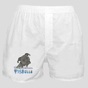 Real Girls Rescue Pitbulls Boxer Shorts