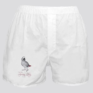 i love my african grey Boxer Shorts