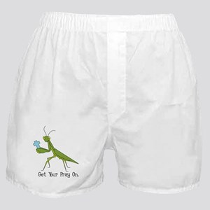 Get Your Pray On Boxer Shorts