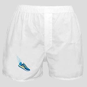 Running Shoe Wing Boxer Shorts