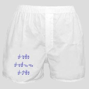 Live Laugh Love -vertical Boxer Shorts