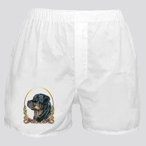 Rottweiler Christmas/Holiday Boxer Shorts
