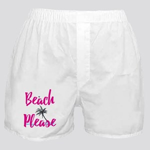 Beach Please Boxer Shorts
