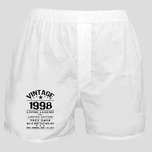 VINTAGE 1998-LIVING LEGEND Boxer Shorts