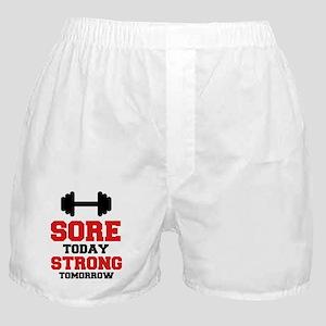 Sore Today Strong Tomorrow Boxer Shorts