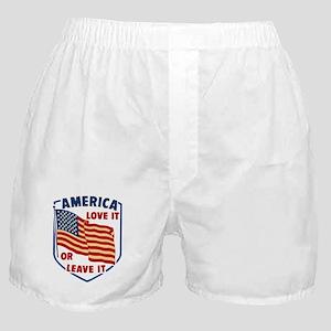 America Love it Boxer Shorts