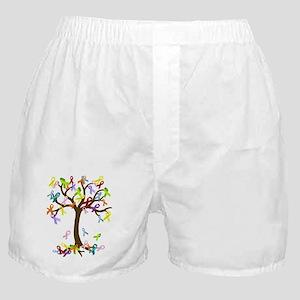 Ribbon Tree Boxer Shorts
