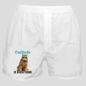 Catitude Boxer Shorts