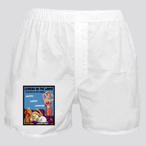 Lesbian Lust Gay Pulp Fiction Image Pin Up Boxer S
