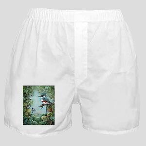 """KINGFISHER'S GROVE"" Boxer Shorts"