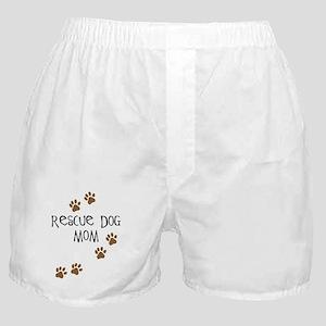 Rescue Dog Mom Boxer Shorts