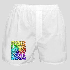 PeaceLovePuppyDogs2Tie-Dye Boxer Shorts