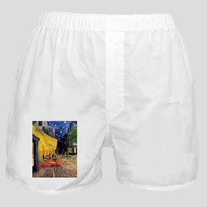 Van Gogh, Cafe Terrace at Night Boxer Shorts