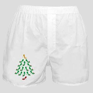 High Heel Shoe Holiday Tree Boxer Shorts