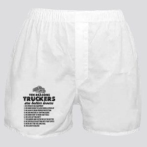 10 Reasons Truckers Better Lovers Boxer Shorts