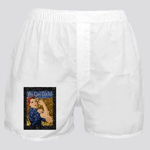 glitter rosie the riveter Boxer Shorts