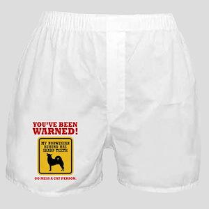 Norwegian Buhund Boxer Shorts