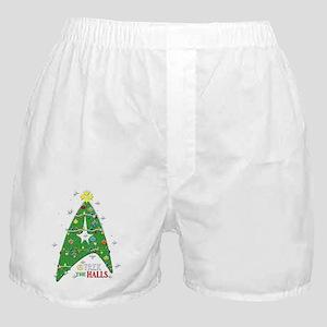 Trek the Halls Boxer Shorts